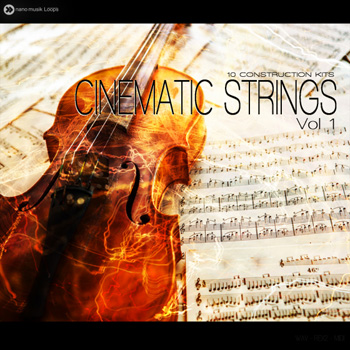 Сэмплы Nano Musik Loops Cinematic Strings Vol 1
