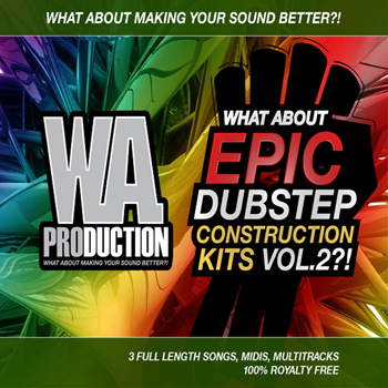 Сэмплы W.A Production Epic Dubstep Construction Kits Vol.2