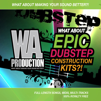 Сэмплы WA Production What About Epic Dubstep Construction Kits
