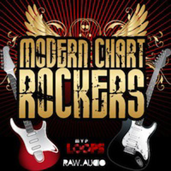 Сэмплы Raw Audio and MVP Loops Modern Chart Rockers