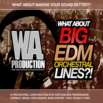 Сэмплы WA Production What About Big EDM Orchestral Lines