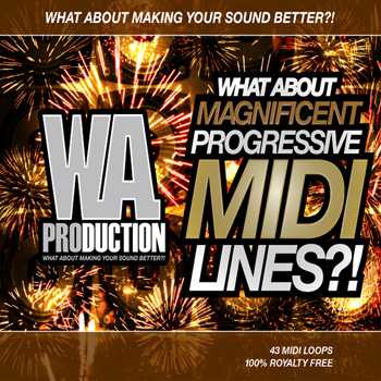 MIDI файлы - WA Production What About Magnificent Progressive MIDI Lines