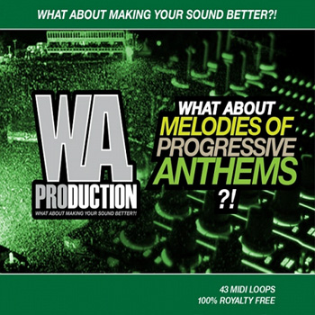 MIDI файлы - WA Production What About Melodies Of Progressive Anthems