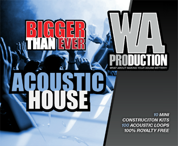 Сэмплы WA Production Bigger Than Ever Acoustic House