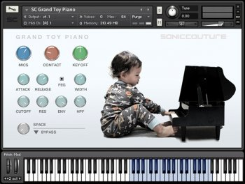 Библиотека сэмплов - Soniccouture Grand Toy Piano (KONTAKT/EXS24)