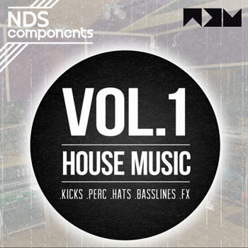 Сэмплы No Dough Samples Components Vol.1 House