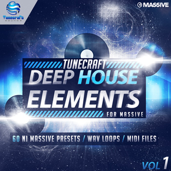 Пресеты Tunecraft Sounds Deep House Elements Vol 1