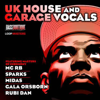 Сэмплы вокала Bass Boutique UK House and Garage Vocals