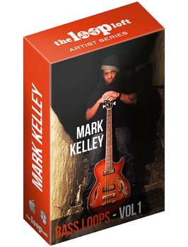 Сэмплы The Loop Loft Mark Kelly Bass Loops Vol 1 Deluxe