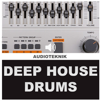 Сэмплы Audioteknik Deep House Drums