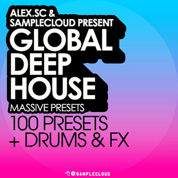 Пресеты SampleCloud Global Deep House Massive Presets