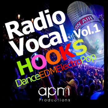 Сэмплы вокала -  APM Productions Radio Vocal Hooks