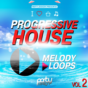 MIDI файлы - Party Design Progressive House Melody Loops Vol 2