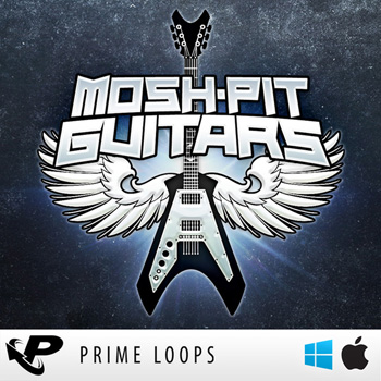 Сэмплы гитары Prime Loops Mosh-Pit Guitars