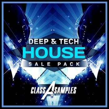 Сэмплы Class A Samples Deep and Tech House Sale Pack