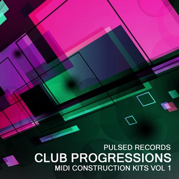 MIDI файлы Pulsed Records Club Progressions Vol.1