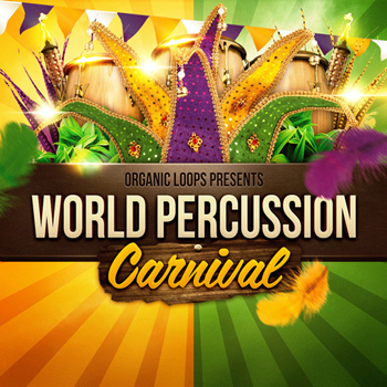 Сэмплы перкуссии -  Organic Loops World Percussion Carnival