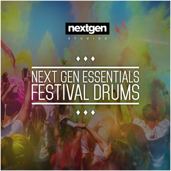 Сэмплы Next Gen Studios Next Gen Essentials Festival Drums