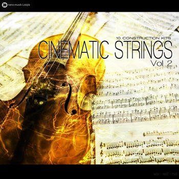Сэмплы Nano Musik Loops Cinematic Strings Vol 2