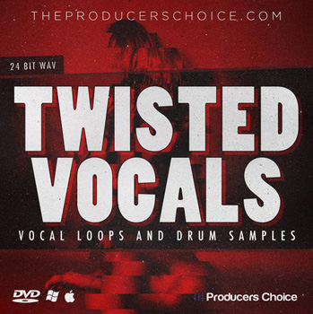 Сэмплы Producers Choice Twisted Vocals and Drum Sample Library