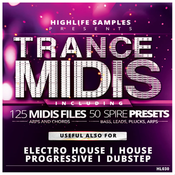 MIDI файлы - HighLife Samples Trance