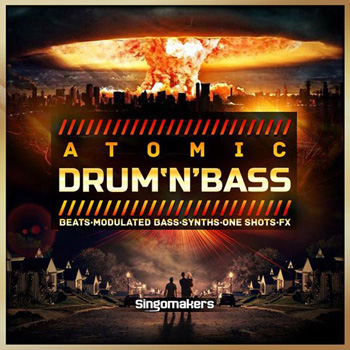 Сэмплы Singomakers Atomic Drum and Bass