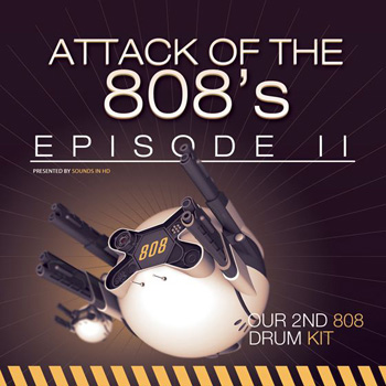 Сэмплы ударных Sounds in HD Attack of the 808 s Episode II