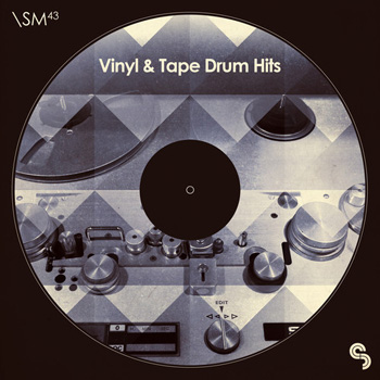 Сэмплы ударных - Sample Magic SM43 Vinyl & Tape Drum Hits