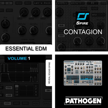 Пресеты Pathogen Contagion Essential EDM 1 For Spire