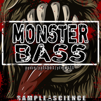 Сэмплы Sample Science Monster Bass