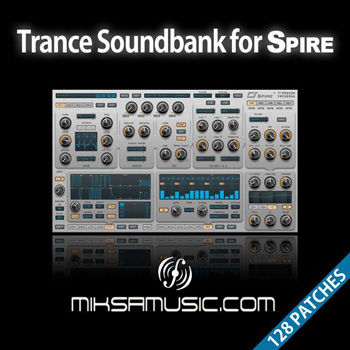 Пресеты MiksaMusic Trance Soundbank for Spire