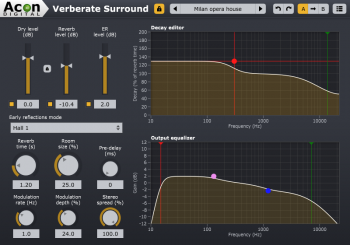 Acon Digital Verberate Surround v1.6.2 x86 x64