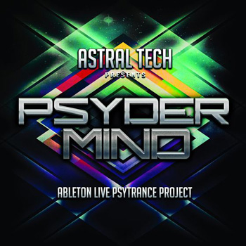 Проект Speedsound Astral Tech: Ableton Live PsyderMind Project