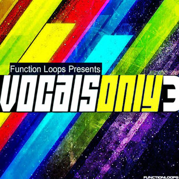 Сэмплы вокала - Function Loops Vocals Only 3