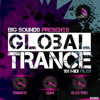 MIDI файлы - Big Sounds Global Trance MIDIS