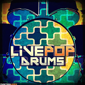 Сэмплы ударных - Function Loops Live Pop Drums