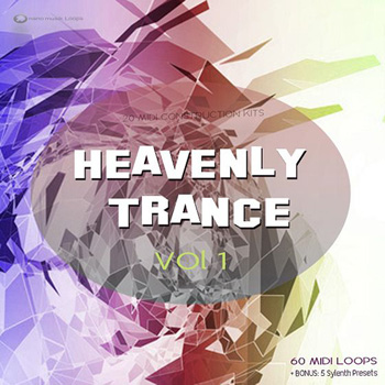 MIDI файлы Nano Musik Loops Heavenly Trance Vol.1