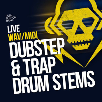 Сэмплы Push Button Bang Live Dubstep and Trap Drum Stems