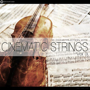 Сэмплы Nano Musik Loops Cinematic Strings Vol.3
