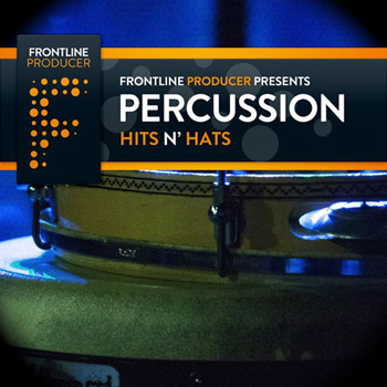 Сэмплы перкуссии Frontline Producer Percussion Hits N Hats