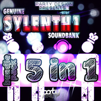 Пресеты Party Design Genuine Sylenth1 Soundbank Bundle Vol.1-5