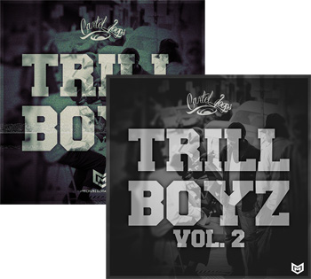 Сэмплы Cartel Loops Trill Boyz Vol 1-2
