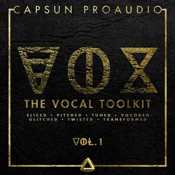 Сэмплы вокала Capsun Proaudio VOX The Vocal Toolkit Vol 1