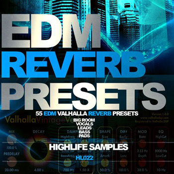 Пресеты HighLife Samples EDM Reverb Presets