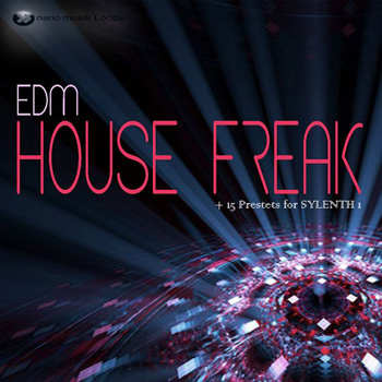 Сэмплы Nano Musik Loops EDM House Freak