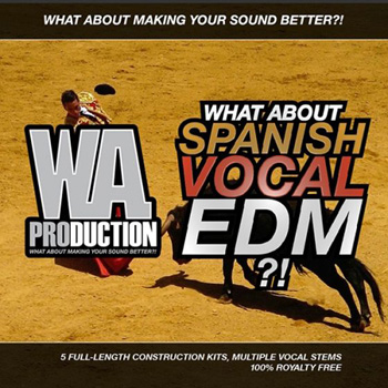 Сэмплы WA Production Spanish Vocal EDM