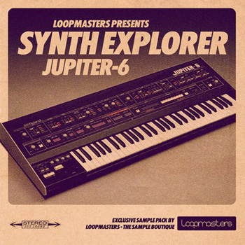 Сэмплы Loopmasters Synth Explorer Jupiter 6