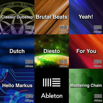 Проекты Ableton Templates 15 in 1 Pack