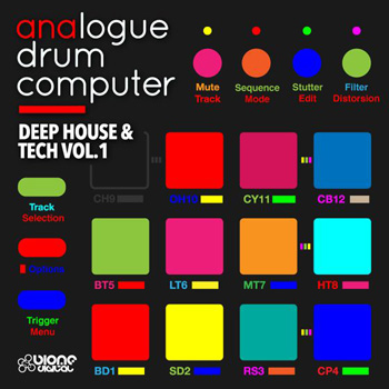 Сэмплы Biome Digital Analogue Drum Computer Deep House and Tech Vol.1