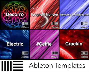 Проекты Ableton Templates 10 in 1 Pack